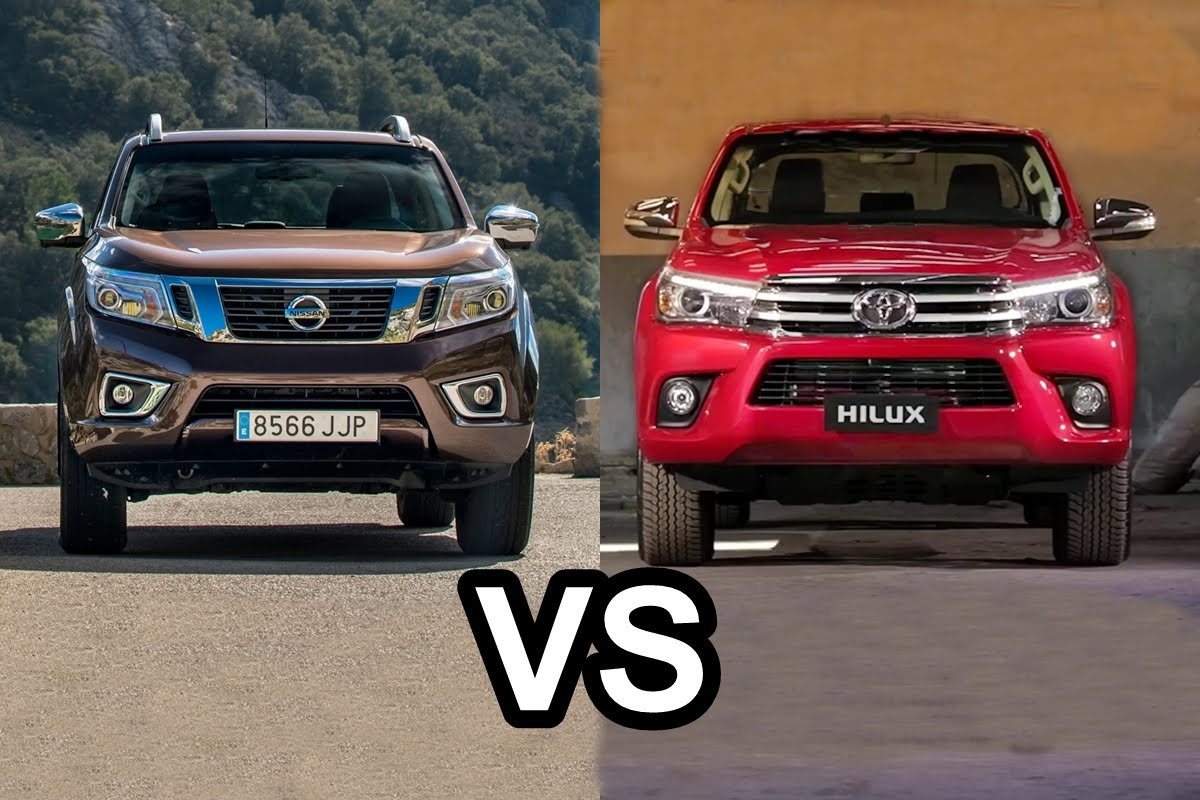 nissan frontier x toyota hilux