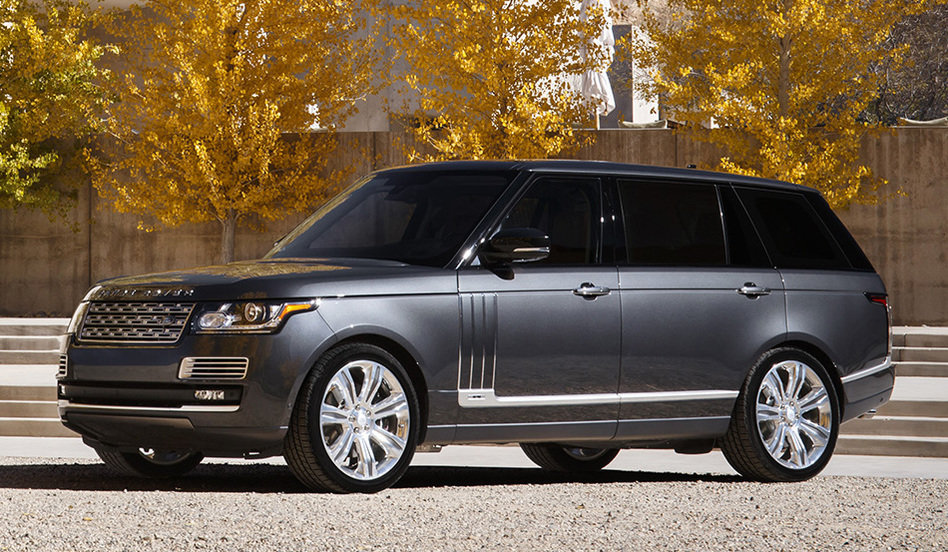 range rover mais caro do mundo